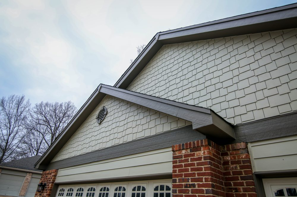 Custom siding that we've provided in Saint Louis, MO